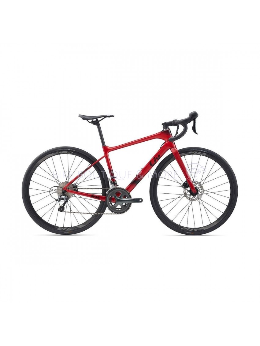 Bicicleta Giant Liv Avail Advanced 3 2020 Metallic Red