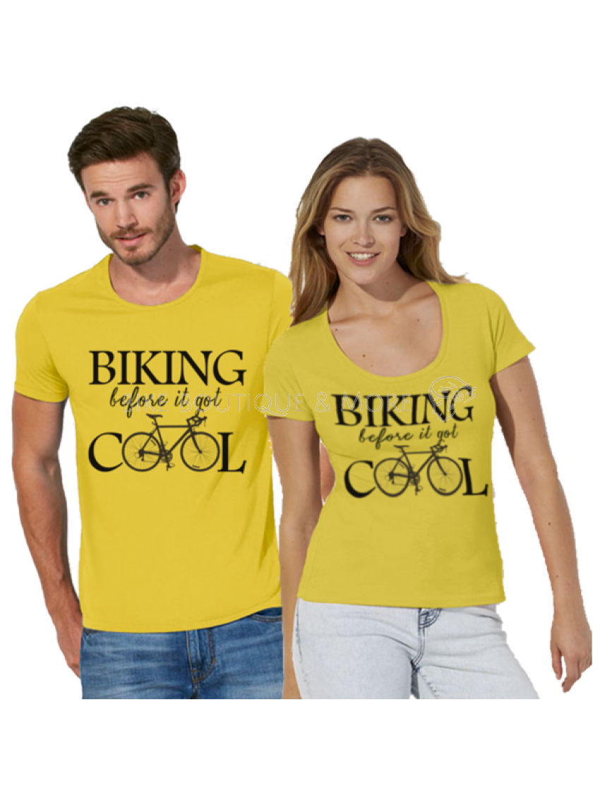 Tricou Biking Before it was Cool