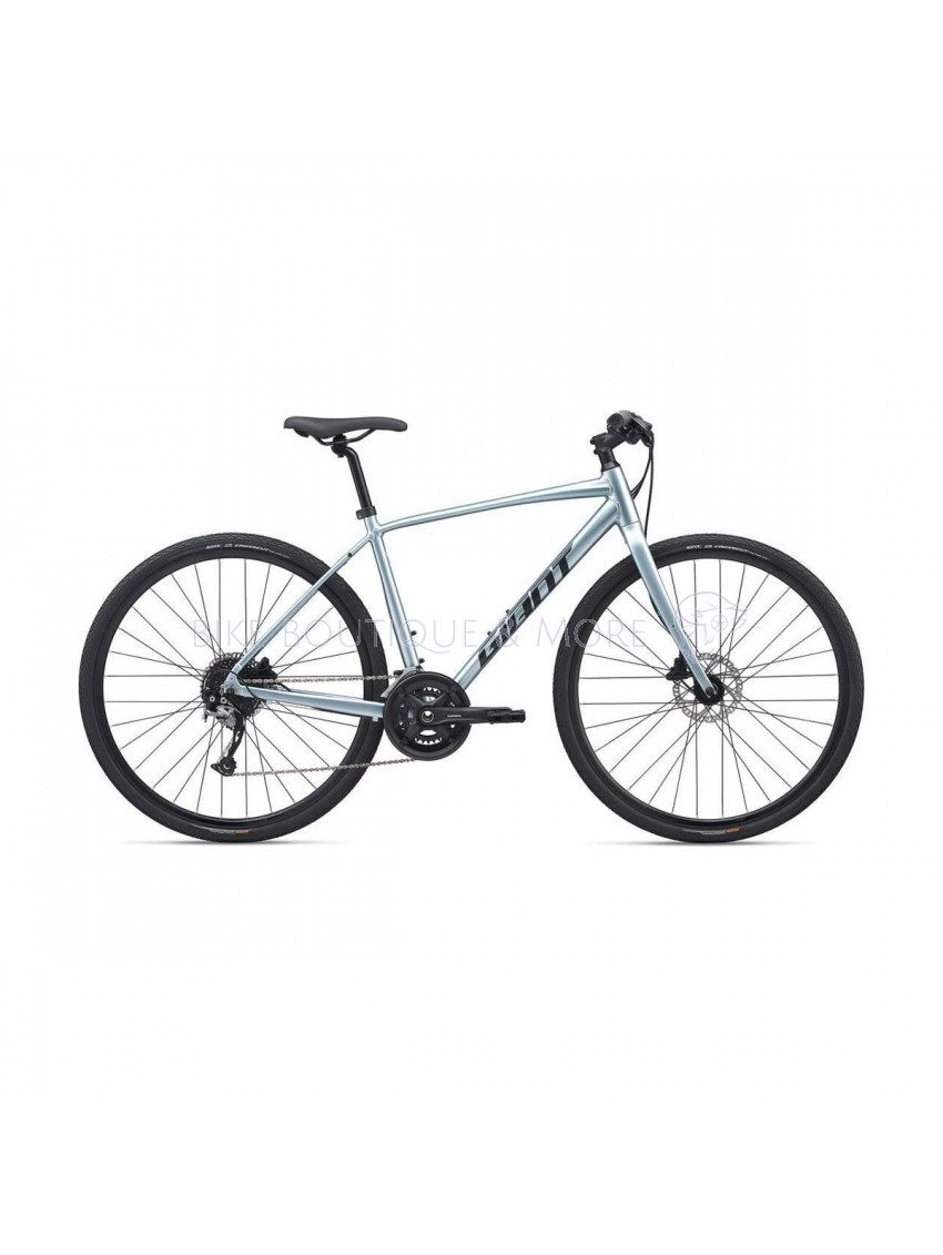 "Bicicleta Giant Escape 1 Disc 28"" Glacier Silver 2020"