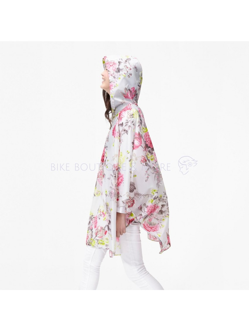 Poncho impermeabil Joules Silver Posy