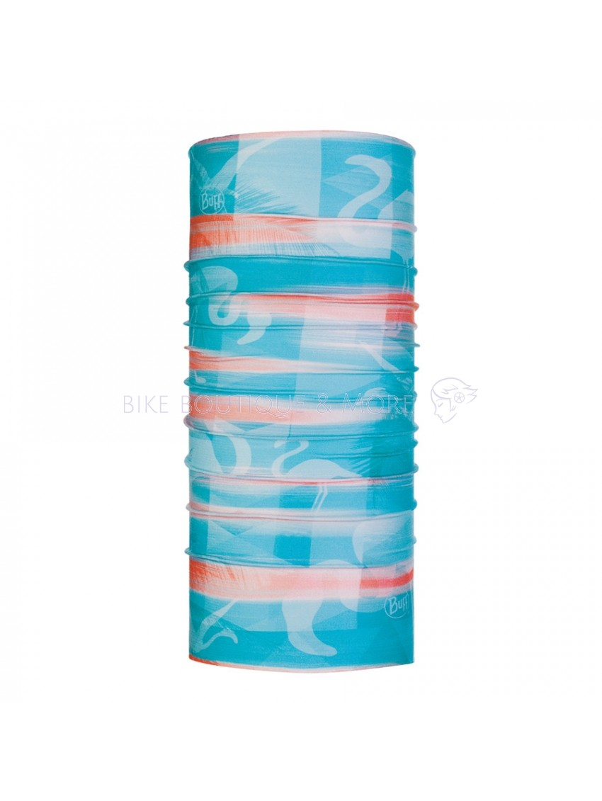 Bandană BUFF Child Coolnet UV Heavens Turquoise