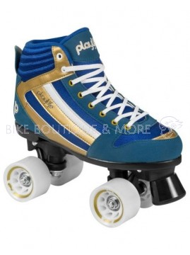 Patine cu rotile Playlife Groove Blue - 38