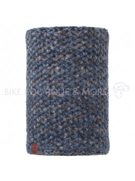 Bandana Buff Neckwarmer Knitted Polar Margo Blue