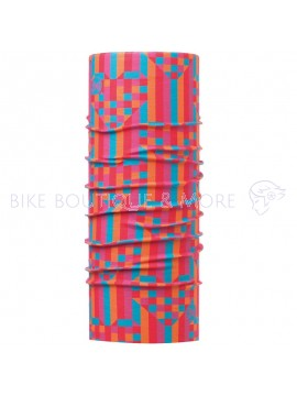Bandană CHILD High UV BUFF® PIXEL PINK