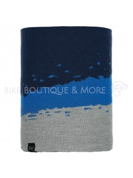 Bandana Buff Neckwarmer Knitted Polar Tove Night Blue