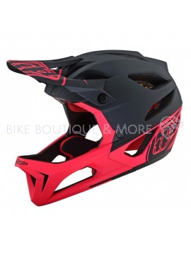 Cască Downhill TROY LEE DESIGNS STAGE MIPS ROPO BLACK / PINK M/L