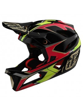 Cască Downhill TROY LEE DESIGNS STAGE MIPS ROPO GREEN / PINK M/L