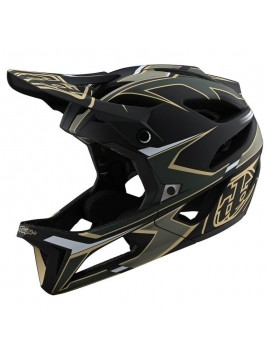 Cască Downhill TROY LEE DESIGNS STAGE MIPS ROPO GREEN / GOLD M/L